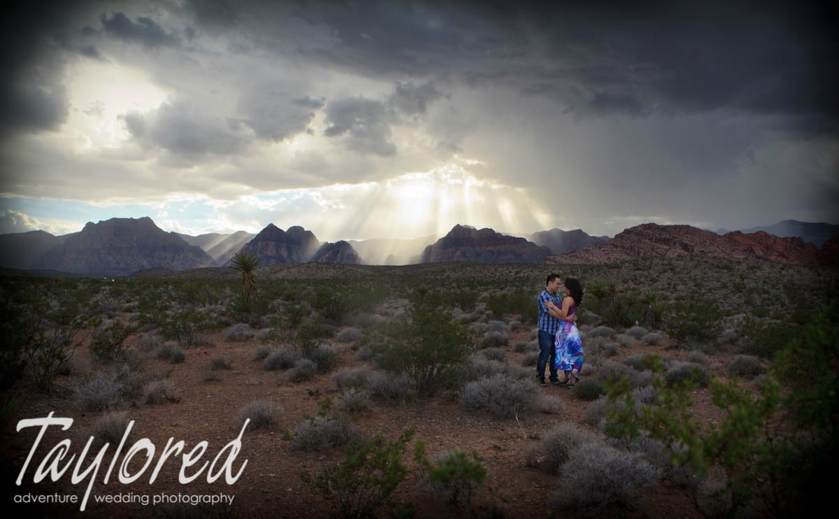 Red Rock Canyon Engagement Session