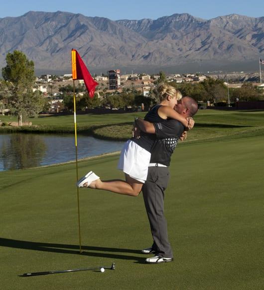 mesquite golf course wedding   Las vegas wedding photographer