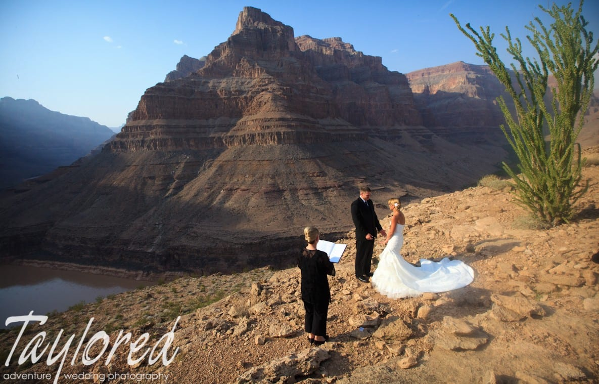 Grand Canyon Wedding - Taylored Photo Memories