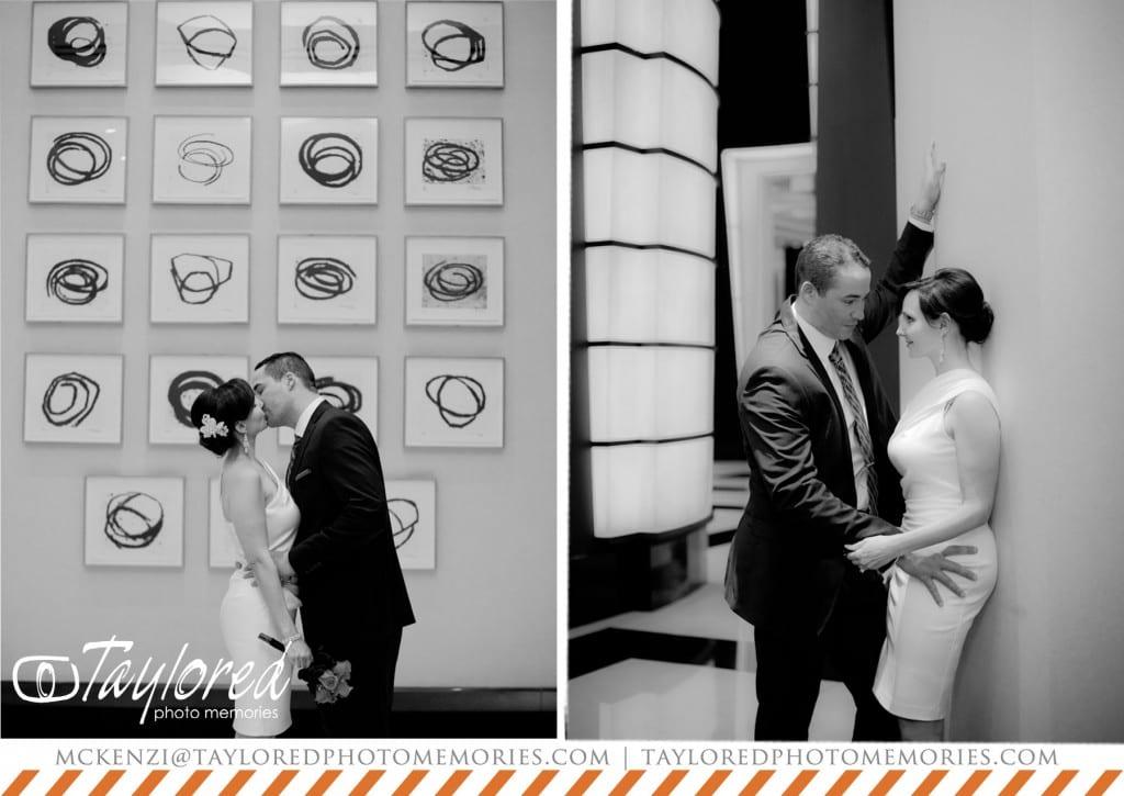 Las Vegas Elopement Photography | In Suite Ceremonies | Taylored Photo Memories