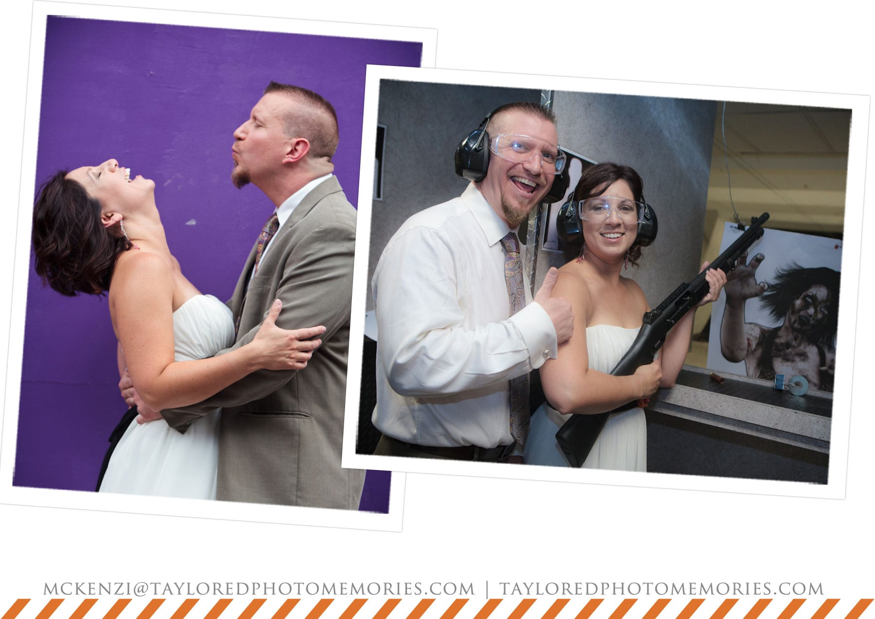 Elope in Vegas | Adventure Wedding Photographer | The Gun Store