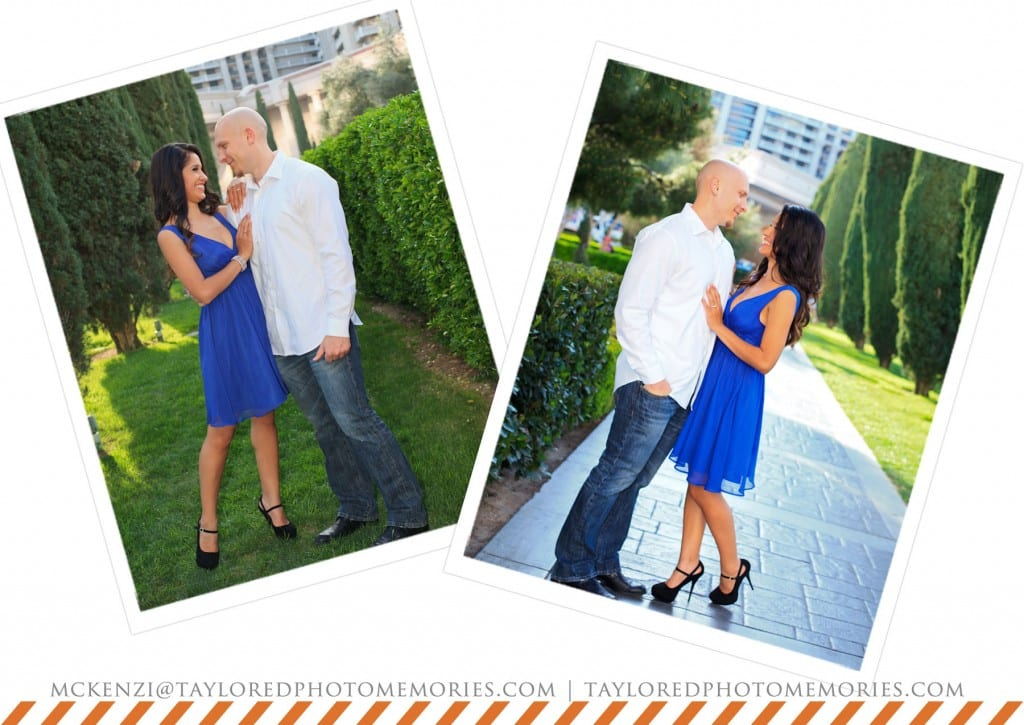 Las Vegas Strip Engagement Session | Las Vegas Elopement Photography