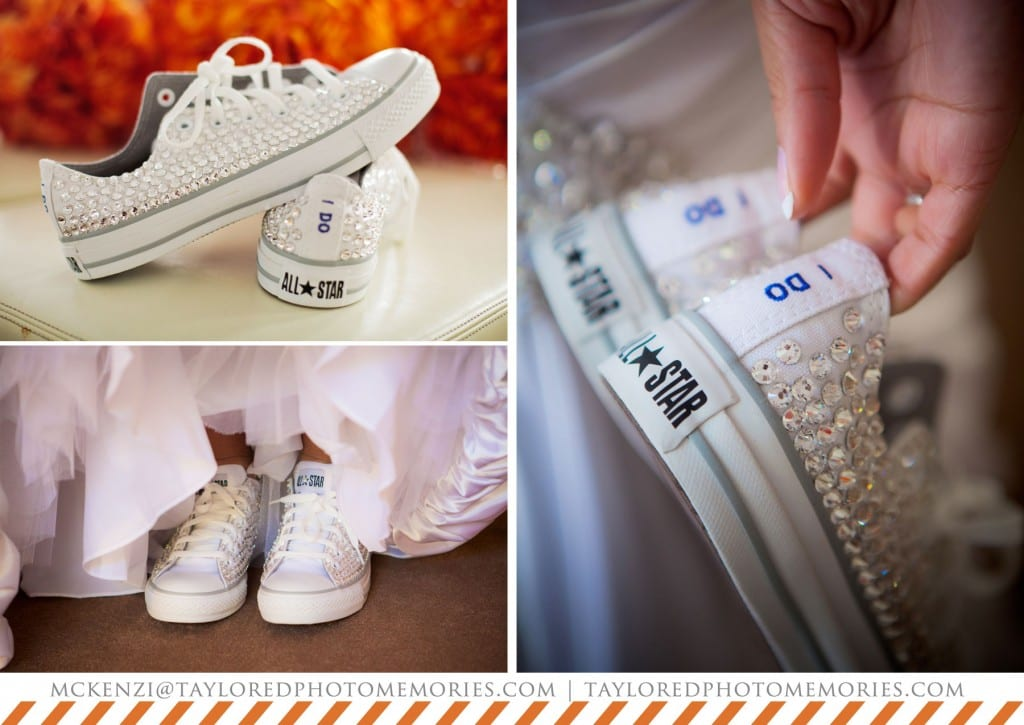Chuck Taylor Wedding Shoes | Converse Wedding Shoes | Taylored Photo Memories