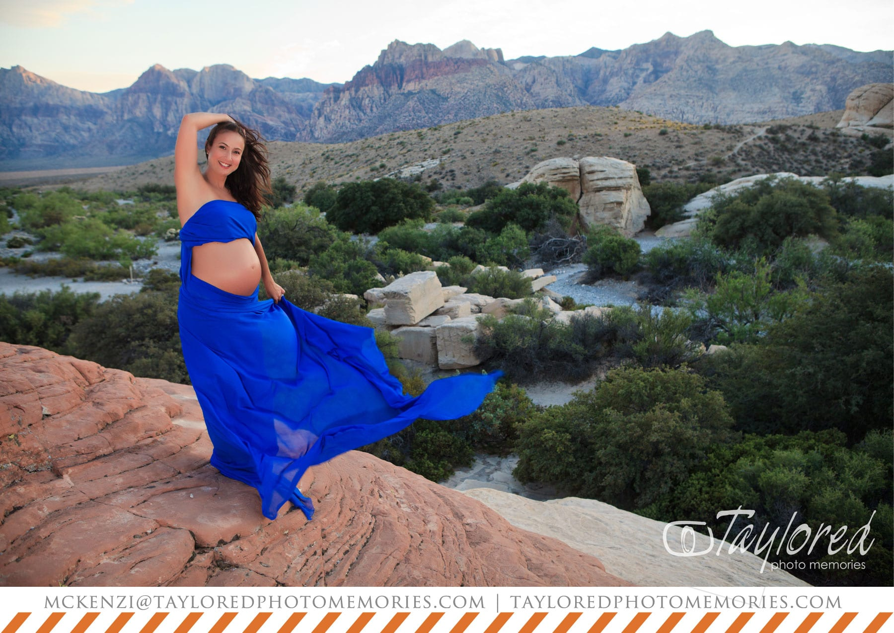Red Rock Canyon Maternity Session | Las Vegas Elopement Photographer
