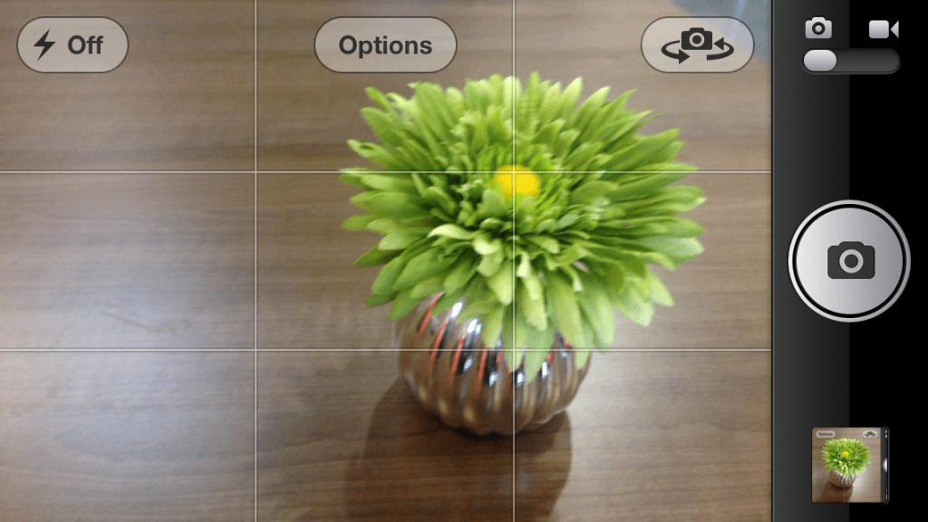 grid lines on iphone - how to take better iphone photos
