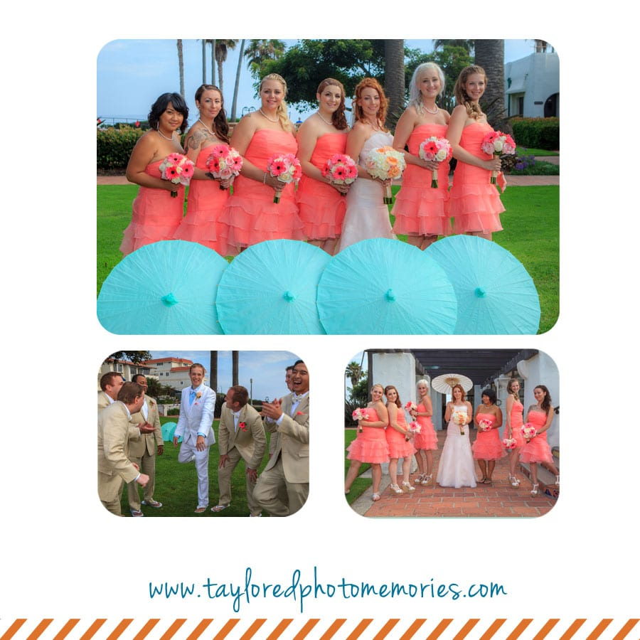 San Clemente Beach Wedding | Taylored Photo Memories