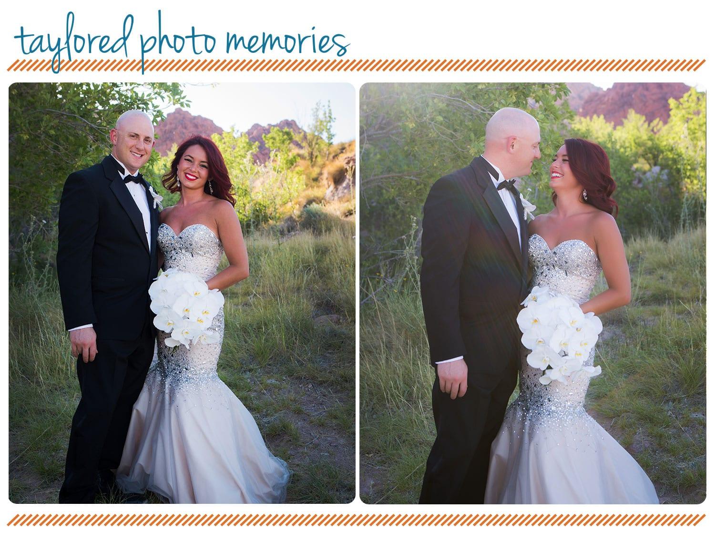 Las Vegas Elopement - Aria Chapel Wedding - Red Rock Canyon Wedding