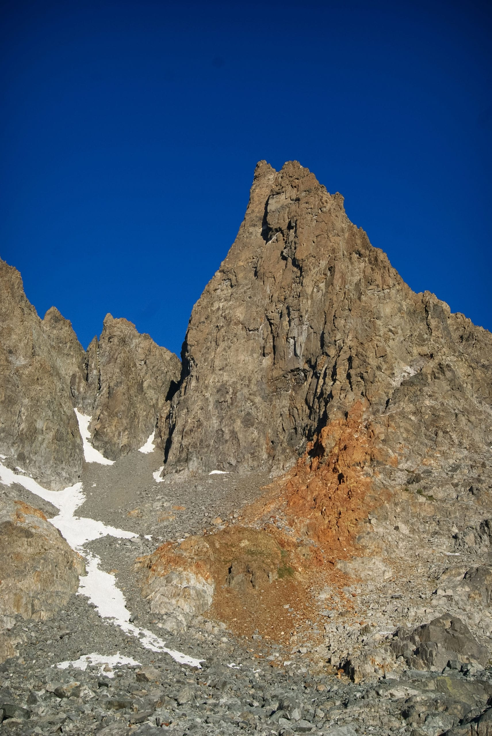 Sierra Nevada Clyde Minaret Climbing