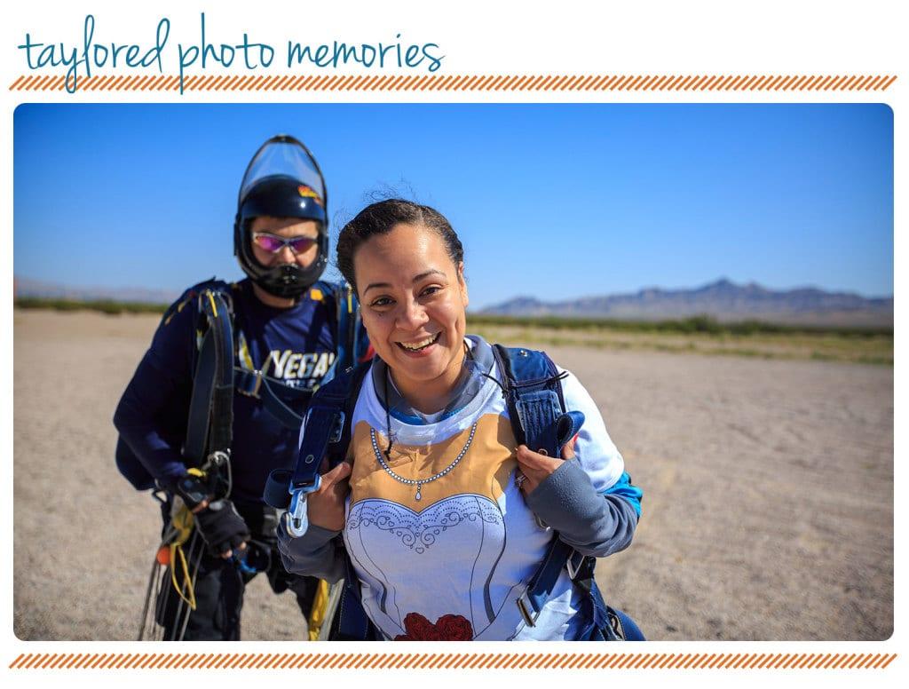 Adventure Wedding   Las Vegas Elopement   Skydiving Wedding