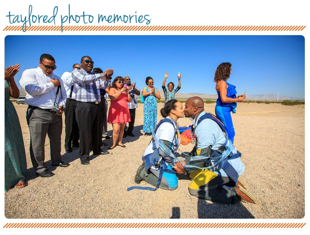 Adventure Wedding | Las Vegas Elopement | Skydiving Wedding