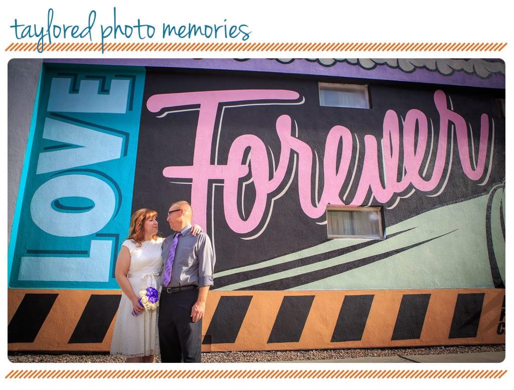Las Vegas Love Forever Wall - las vegas elopement