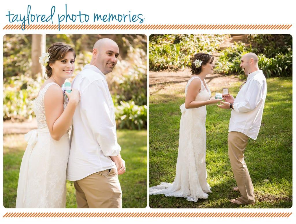 First Look | Gift Exchange | Laguna Beach Wedding