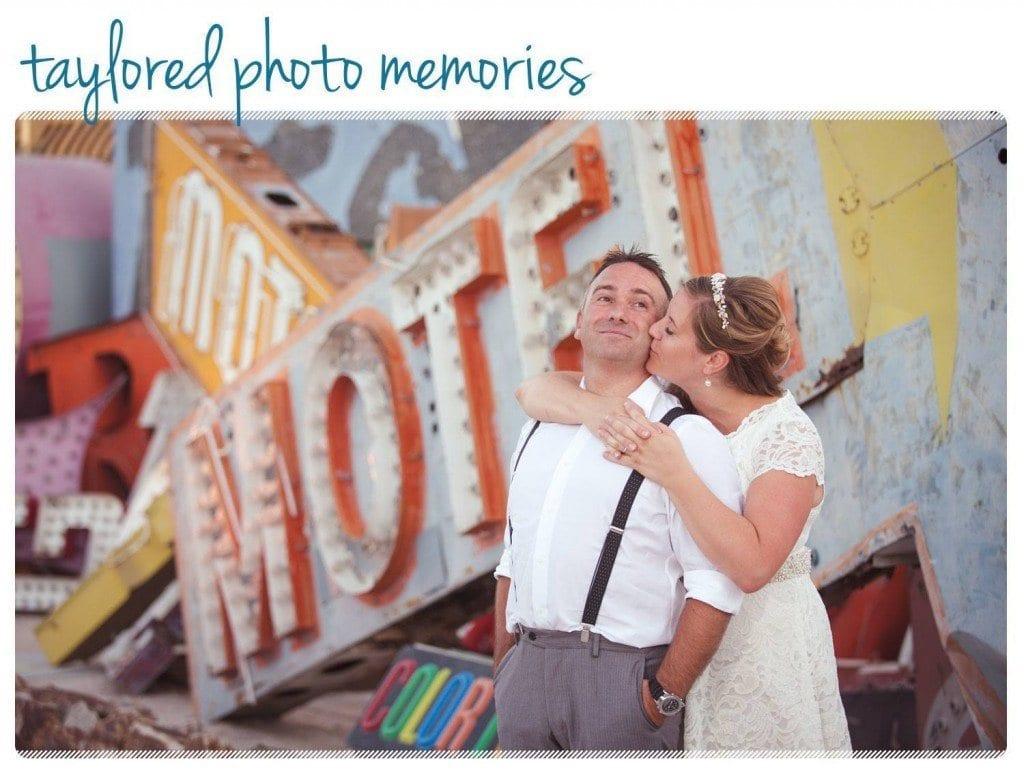 Neon Museum Wedding, Quick Little White Wedding Chapel Wedding, Las Vegas Wedding Photographer