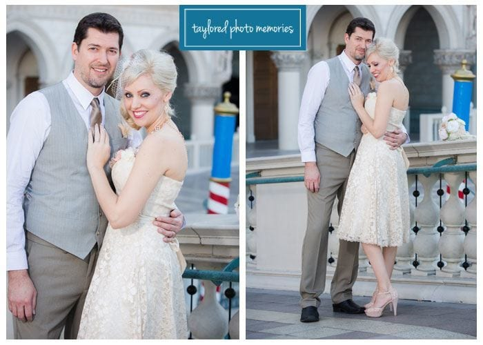 Las Vegas Vow Renewal on the Strip with DIY Details