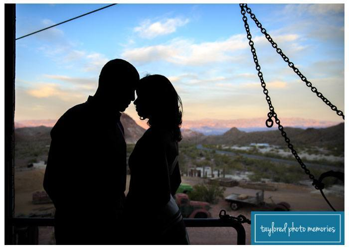 Nelson's Landing Eldorado Ghost Town Photographer / Las Vegas Photographers / Engagement Session in Las Vegas