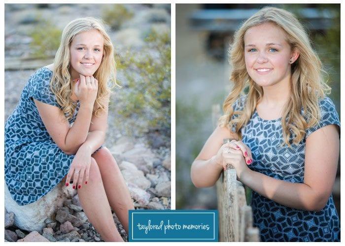 Las Vegas Wedding Photographer // High School Senior Portraits in Las Vegas
