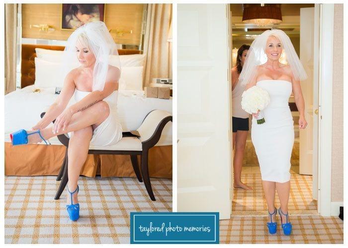 Las Vegas Wedding Photographer // Neon Museum Photo Shoot // Little White Wedding Chapel // Elvis Wedding