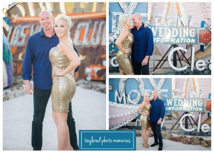 Las Vegas Wedding Photographer // Neon Museum Photo Shoot // Little White Wedding Chapel