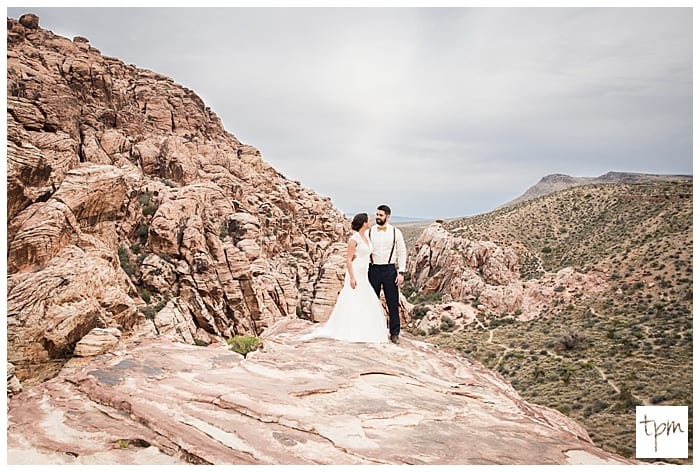 Wedding at Red Rock Canyon Las Vegas Nevada