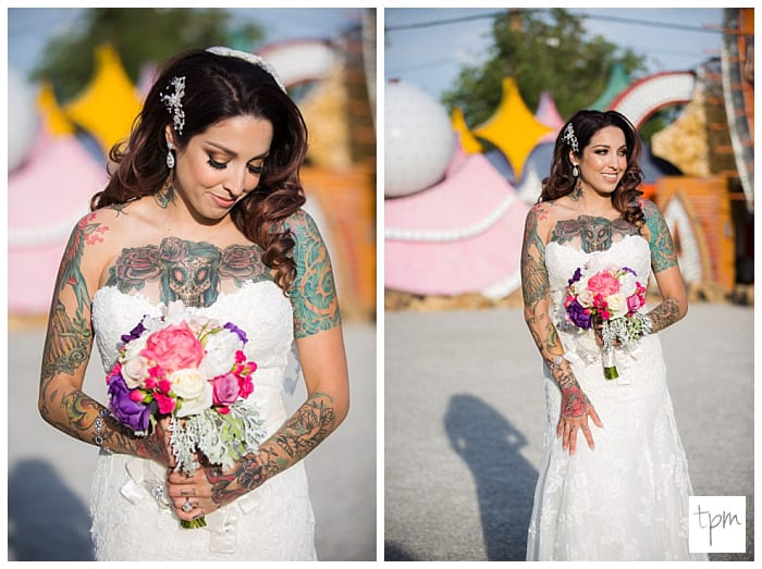 Tattoo-Bride-Wedding-Las-Vegas-Neon-Boneyard-Pictures