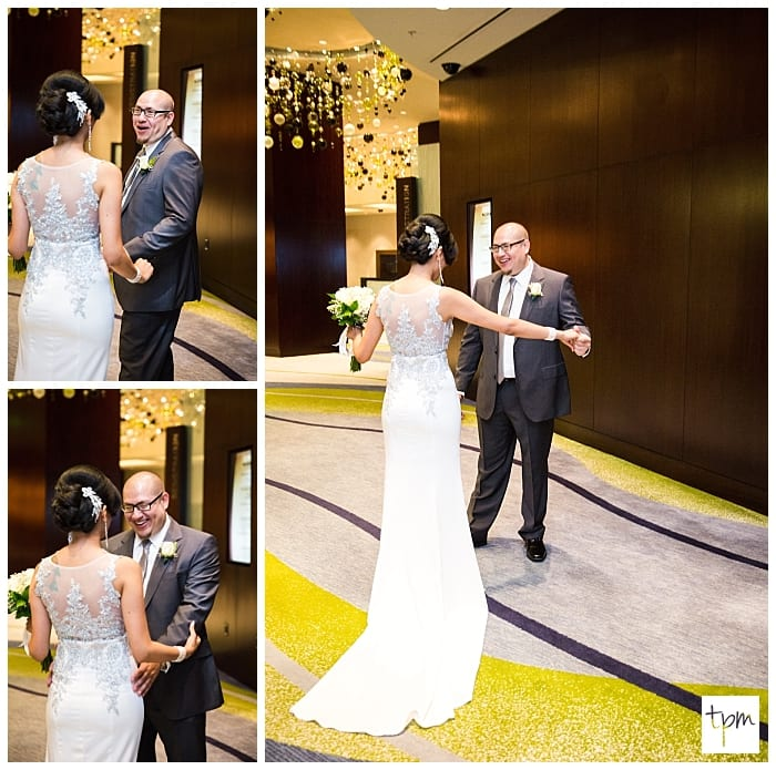 Vegas Wedding in Vdara and the COPA Room at Bootlegger Bistro