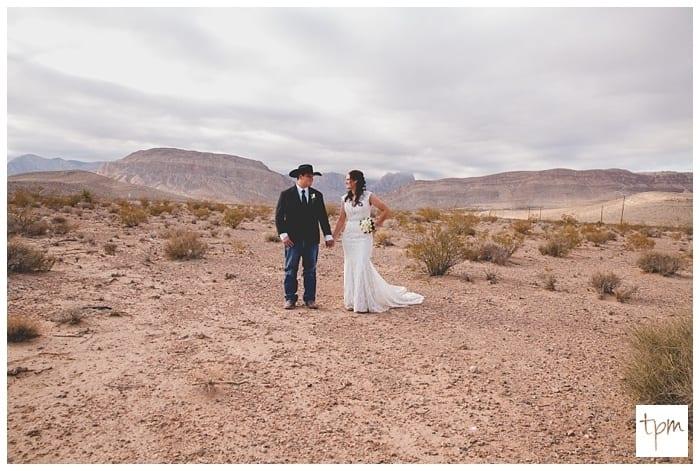 Desert Wedding at Cactus Joes Nursery in Las Vegas NV