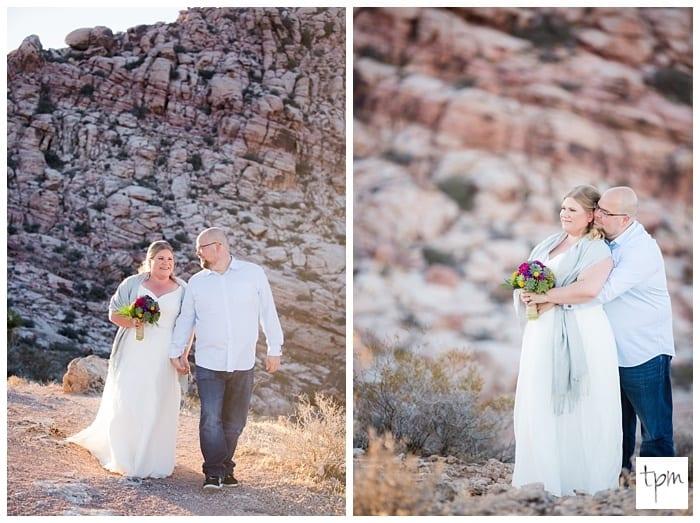 Photos of A Las Vegas Desert Wedding at Calico Basin
