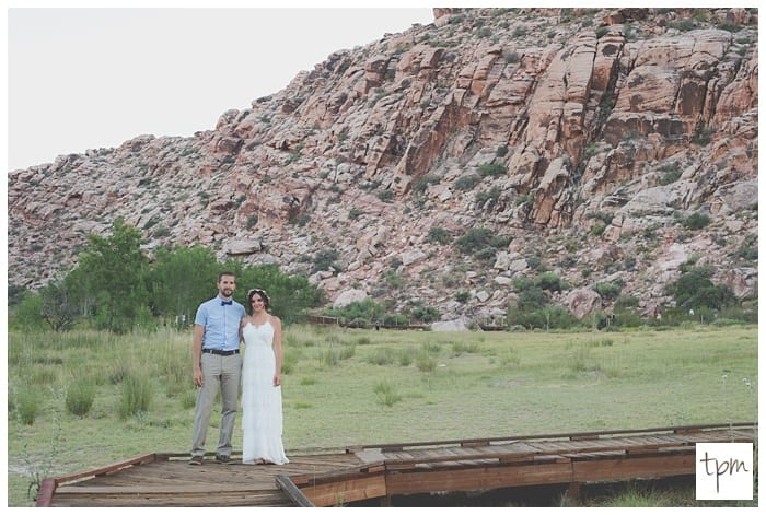 Spring Wedding in the Desert of Red Rock Canyon Las Vegas