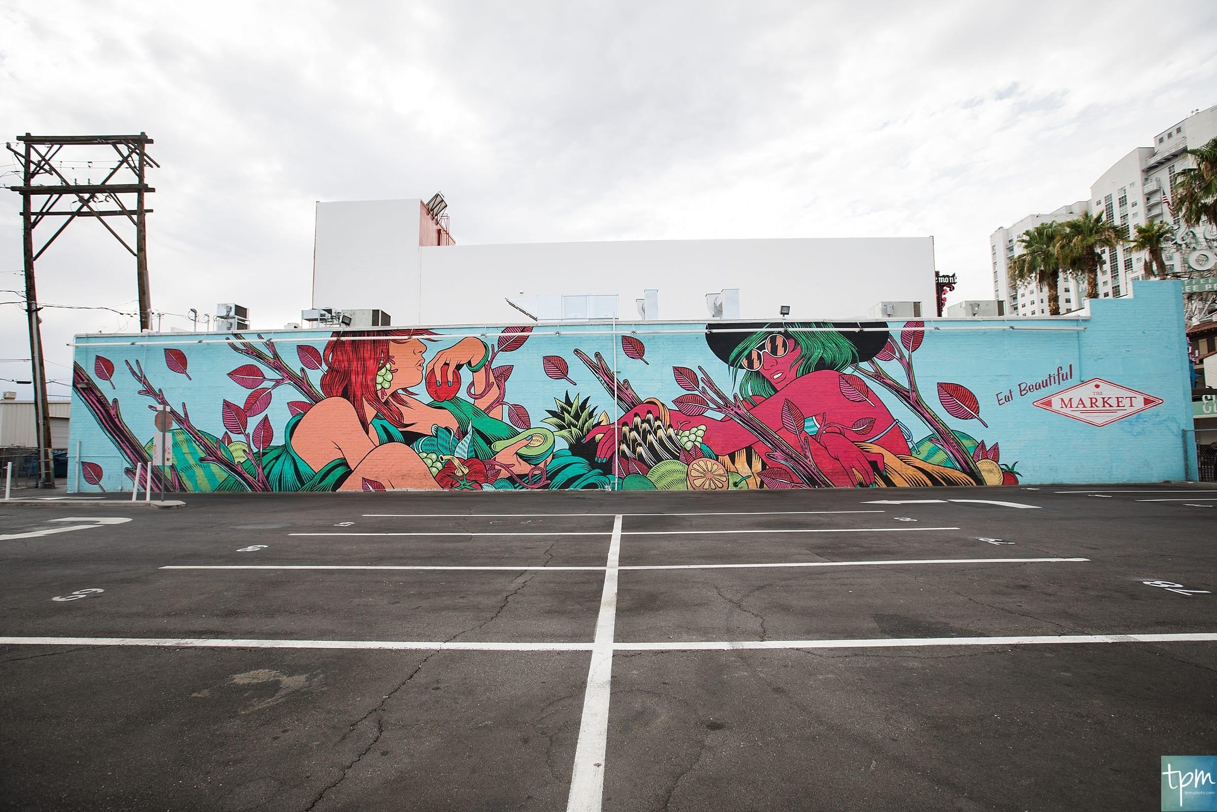 Bicicleta Sem Freio, Mural Guide, Taylored Photo Memories, Las Vegas Murals