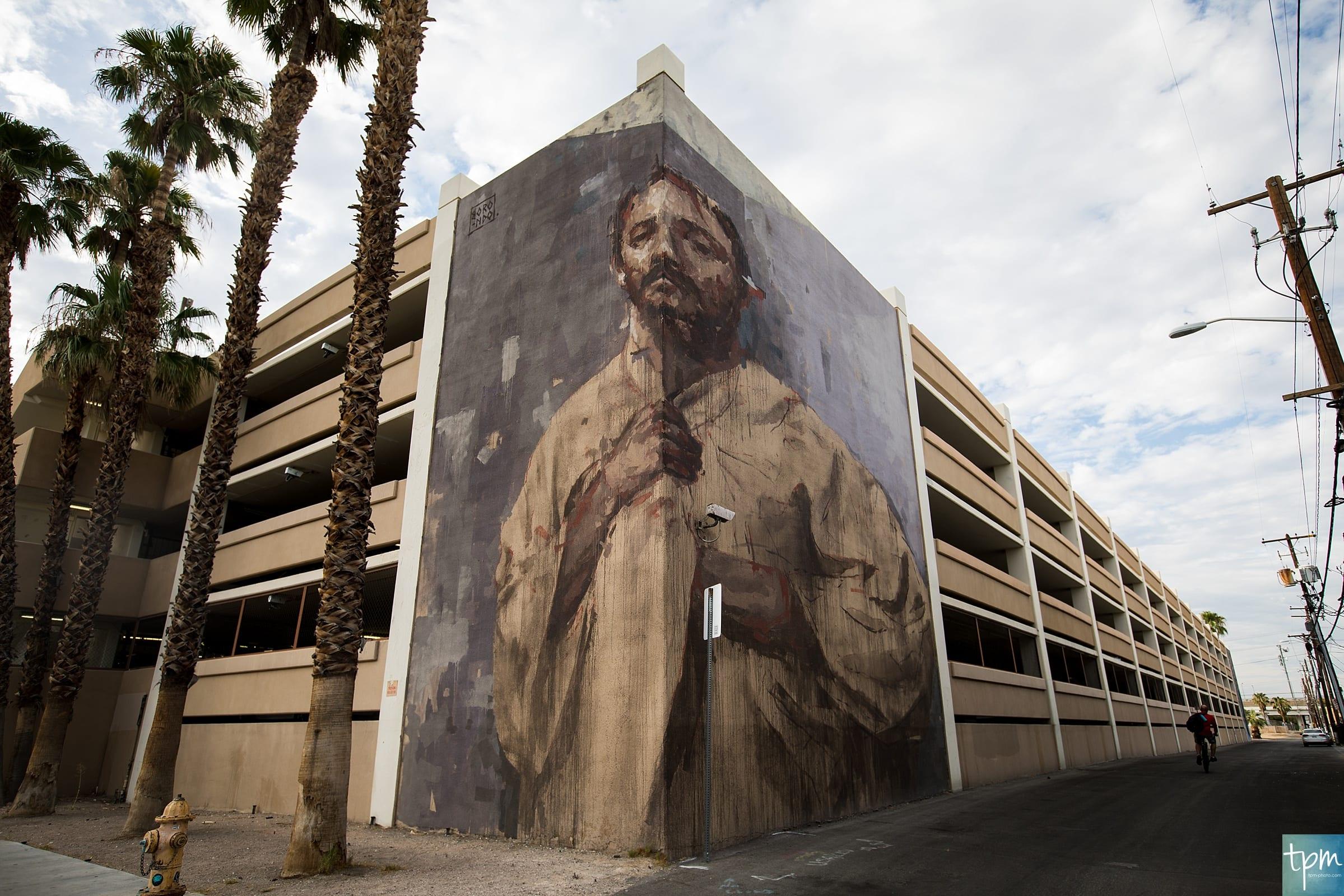 Corner, Borondo, Taylored Photo Memories, Las Vegas Murals