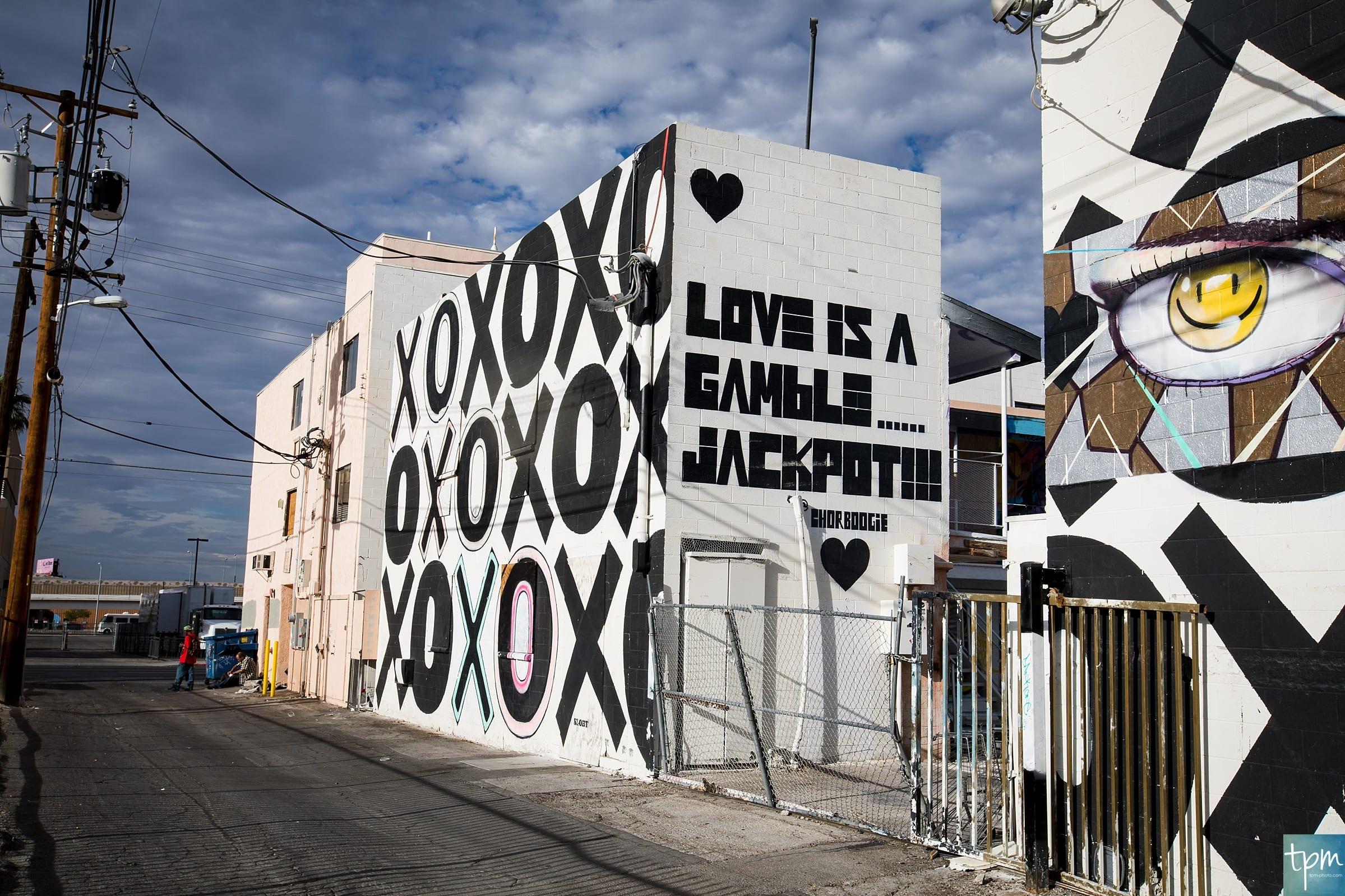 ChorBoogie, Love is a Gamble...Jackpot!, Taylored Photo Memories, Las Vegas Murals