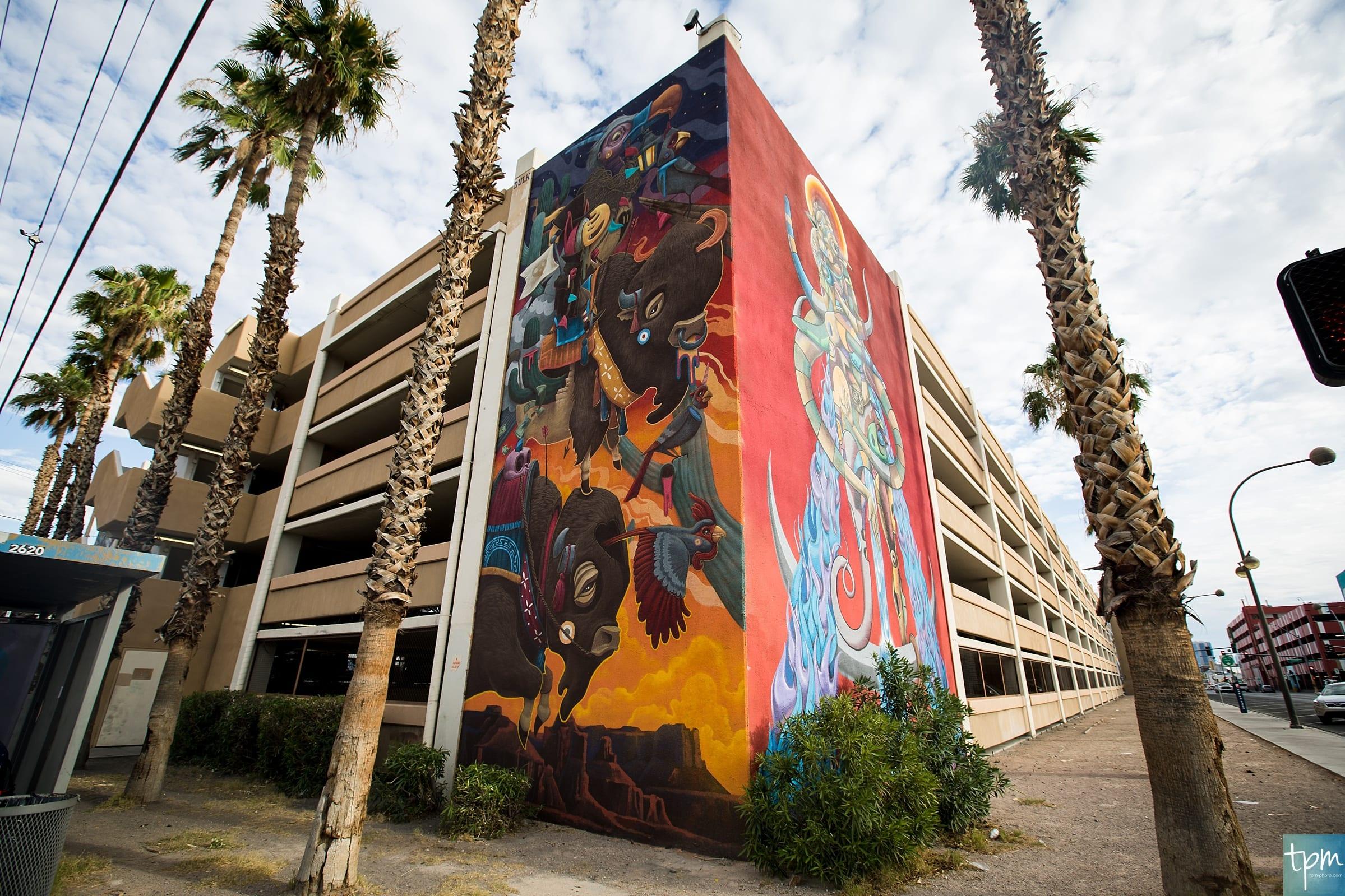 Dulk, TPM, 7th Street Mural, Taylored Photo Memories, Las Vegas Murals