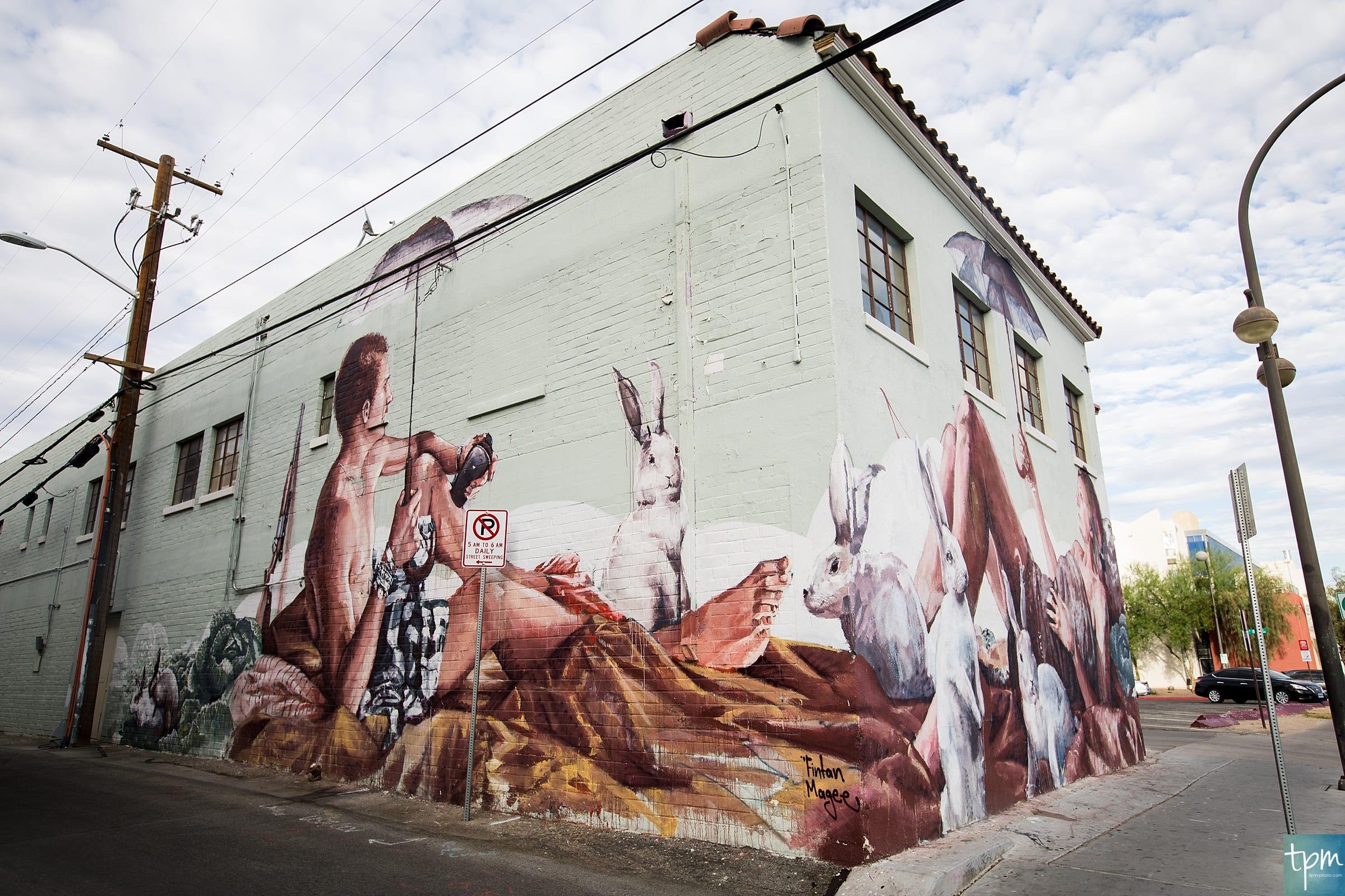 Fintan Magee, Ogden Ave, Taylored Photo Memories, Las Vegas Murals