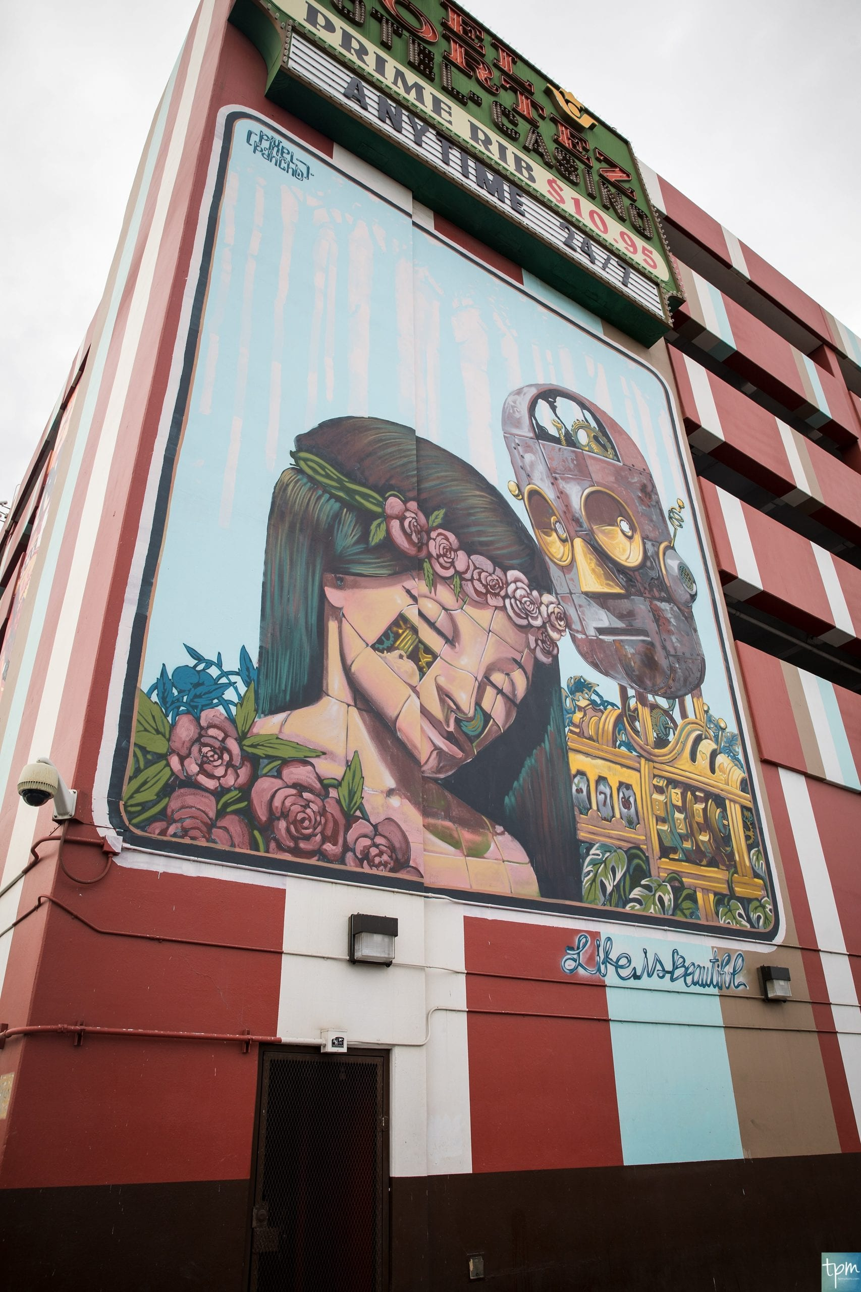 Pixel Pancho, The Meaning, Fremont, Taylored Photo Memories, Las Vegas Murals