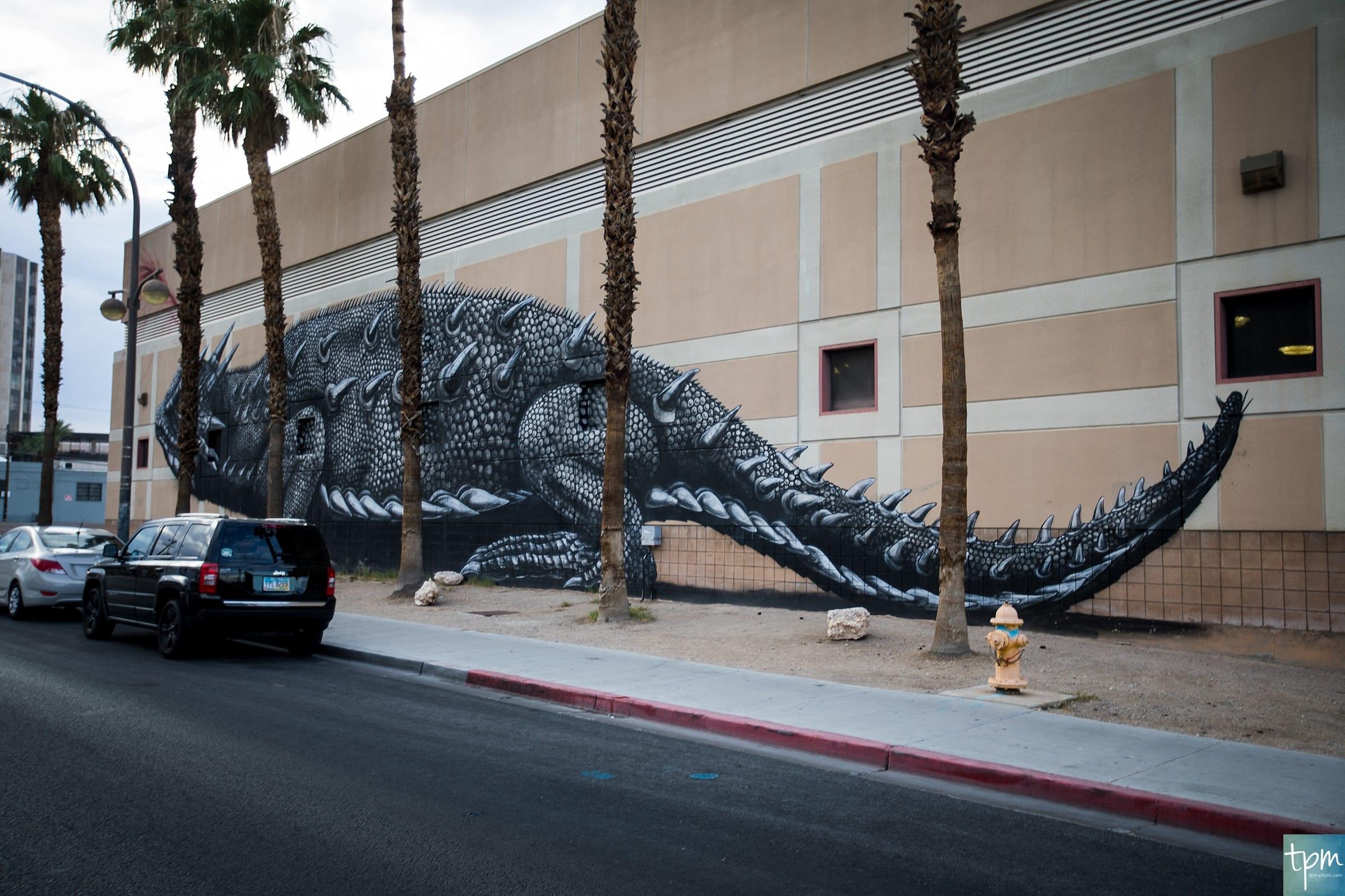 ROA, Horned Toad, Stewart Avenue, Taylored Photo Memories, Las Vegas Murals