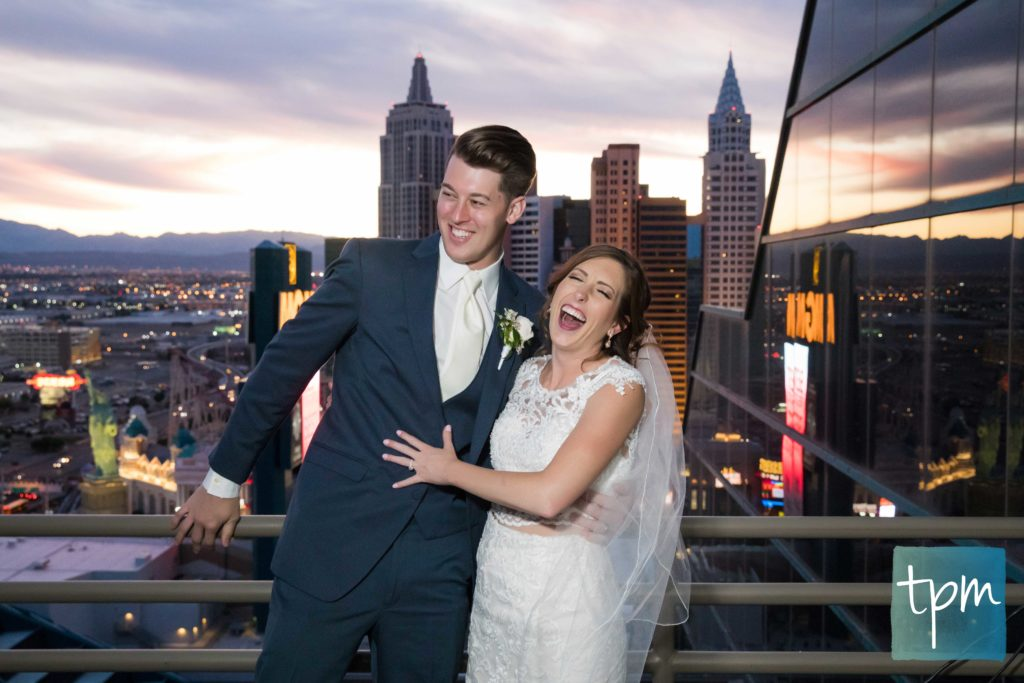 Las Vegas Wedding Photographers, MGM Grand Skyline Terrace Wedding